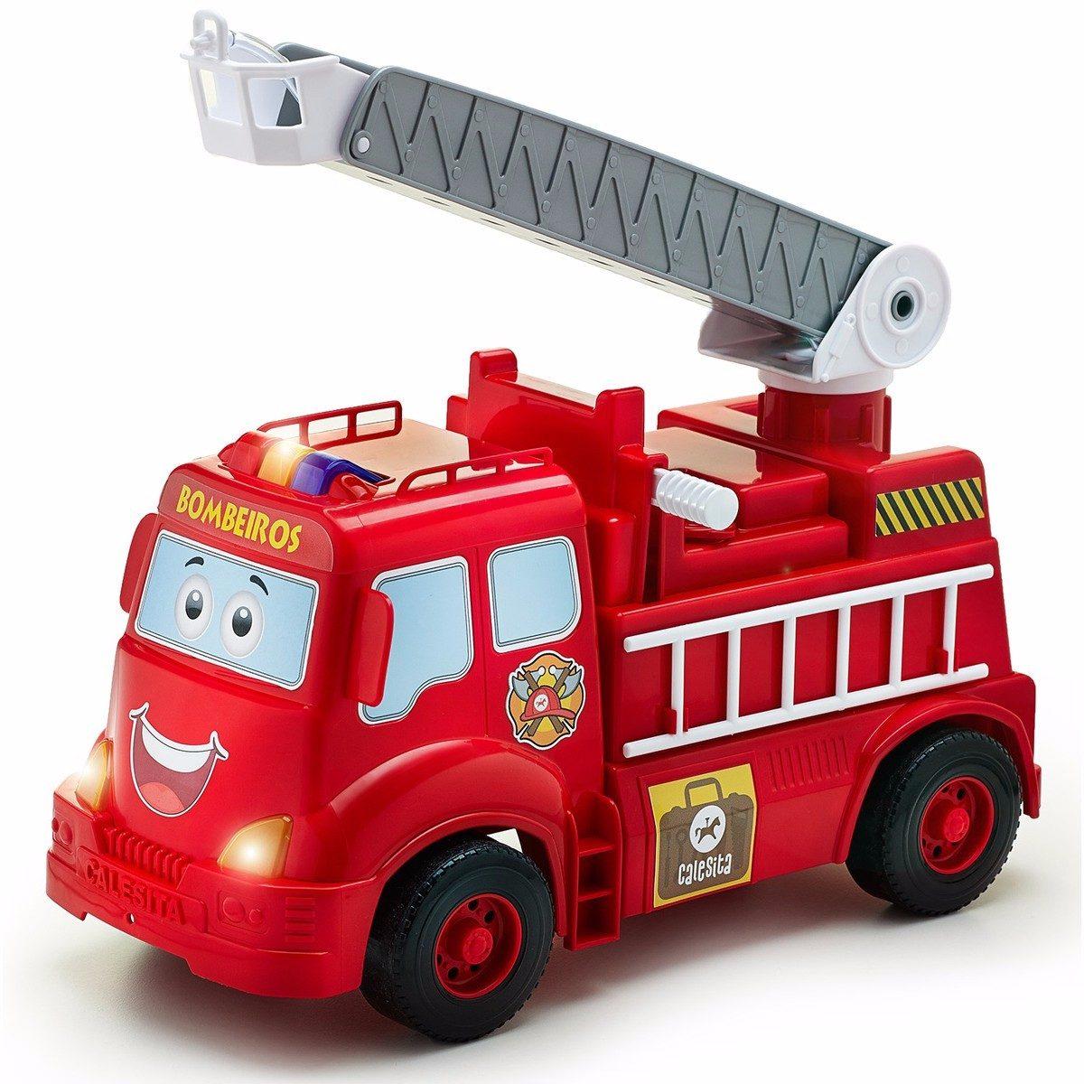 Camion Bombero Con Luces Y Sonido 408 Marca Calesita - $ 1.229,00 en ...