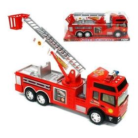 Camion Bombero Fire Rescue Con Escalera Jlt 8022 La Torre