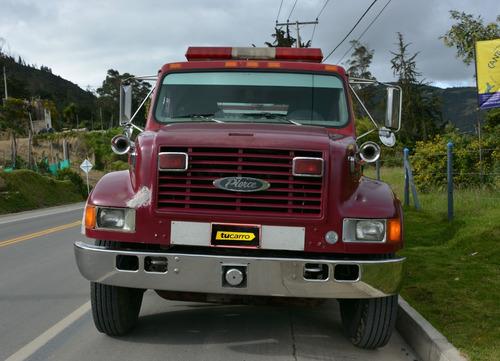 camión bomberos internacional motor diesel
