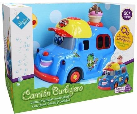 camión burbujero - el duende azul