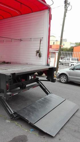 camion camioneta flete transporte con rampa hidraulica cdmx