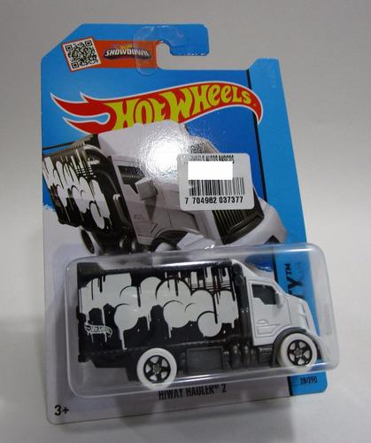 camion camioneta furgon escala coleccion hot wheels