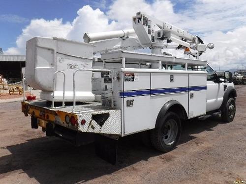 camion canastilla marca ford para servicios alumbrado altec