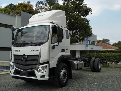 camión, chasis, foton, 17 toneladas