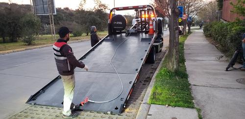 camion chevrolet nqr 919 / grua con plataforma hidrulica