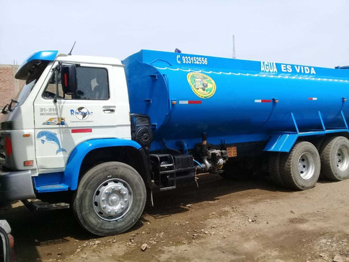 camión cisterna de agua volkswagen 2007