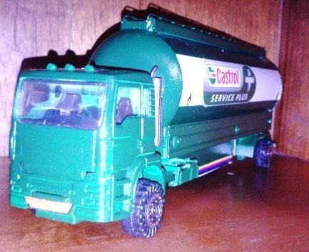 camion cisterna escala castrol unicos de coleccion remate