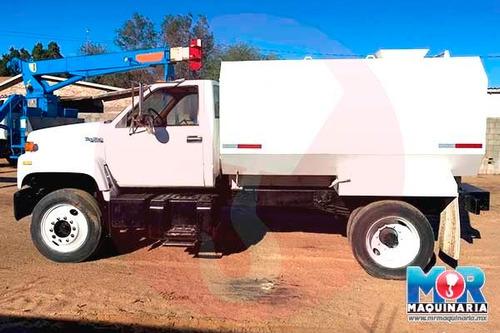 camion cisterna gmc topkick 1993, pipa, tanque de agua