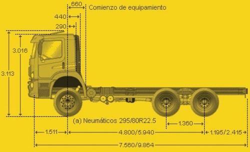 camión cisterna volkswagen constellation - 2011