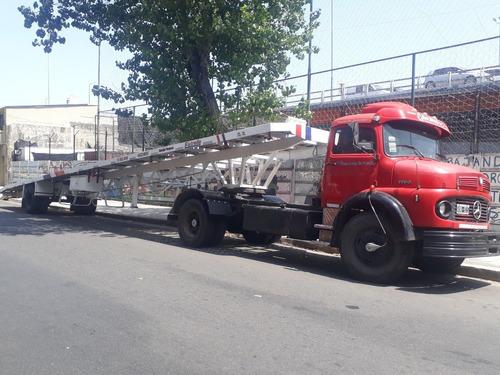 camion con camilla de auxilio- m.benz 1114 con transportin