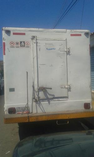 camion con cava isotermica