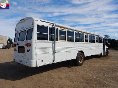 camion con equipo autobus 2010 bluebird bb cv 3310a gm106628