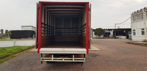 camion con furgon volkswagen 7100