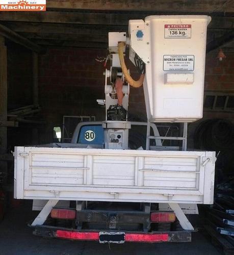 camion con hidroelevador ford 350 (id453)