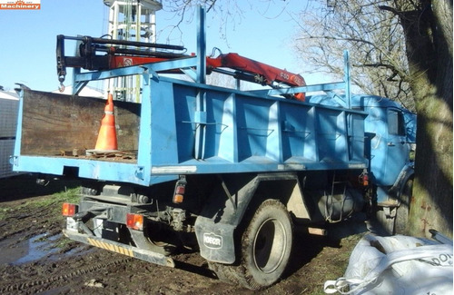 camion con hidrogrua mercedes benz 1114 (id439)