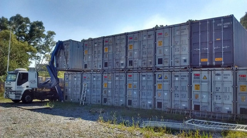 camion con hidrogrua- transporte carga/descarga contenedores