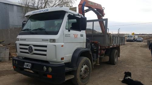 camion con hidrogrua volkswagen 17.220