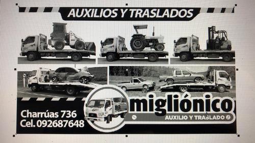 camión de auxilio y grúa  en paysandú