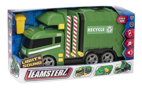 camión de basura teamsterz
