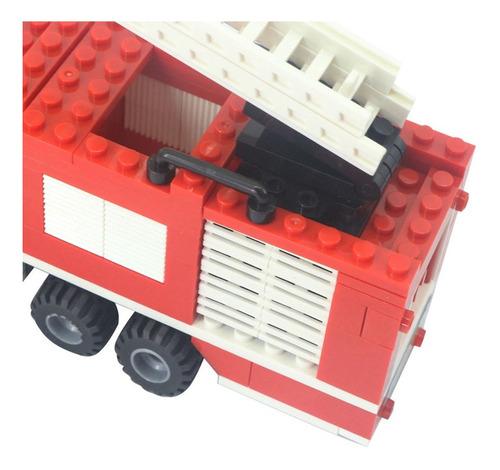 camion de bombero cogo fire fighter bloques