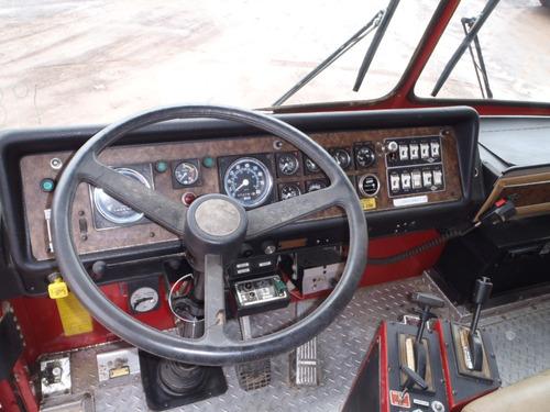 camion de bomberos con 45,000 km, buen estado 7885