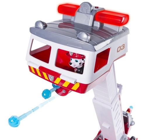 camión de bomberos paw patrol rojo