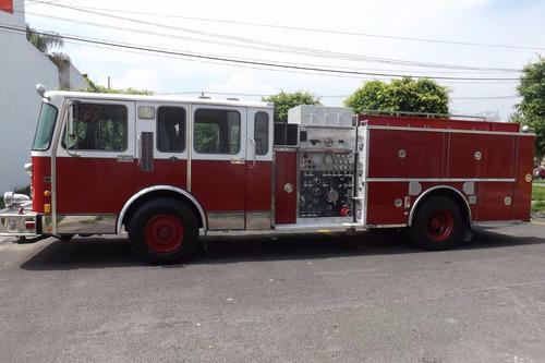 camion de bomberos, spartan, detroit 60, todo equipado