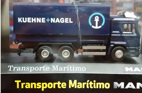 camion de coleccion transporte marítimo (man) 1/72