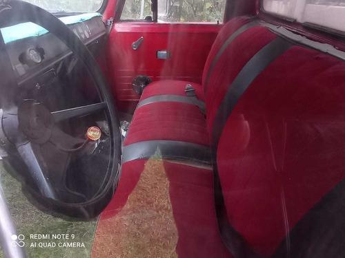 camión de estacas internacional modelo 1974 gas y gasolina
