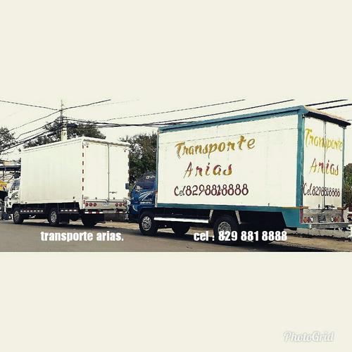 camion de mudanzas arias.
