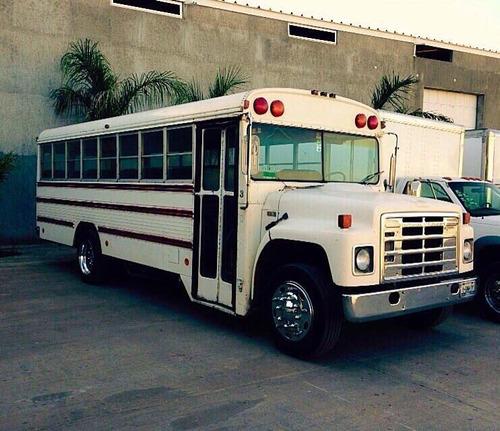 camion de pasajeros international navistar 1986