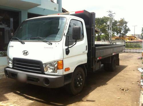 camión de plataforma hyundai como nuevo 2013