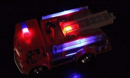 camión de sam el bombero (música + luz led)