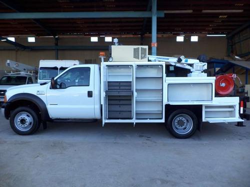 camion de servicio ford f550 con grua chevrolet, gmc, isuzu