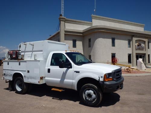 camión de servicio publico ford grúa venturo folio 8776