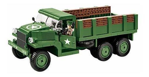 COBI® 2378A GMC CCKW 353 Transport Truck Camión de Transporte 345 piezas