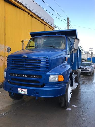 camion de volteo 14 mts año 2010 sterling a9500, oportunidad