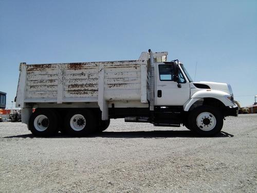 camion de volteo 14 mts international 7400 año 2011