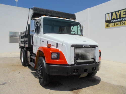 camion de volteo freightliner fl70 sistema aspersion sello