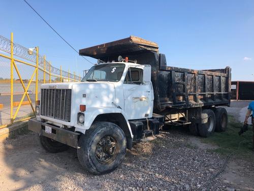 camion de volteo gmc brigadier  mod 1983 para 12 mts3