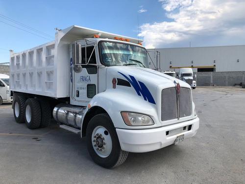 camion de volteo kenworth t370 año 2012
