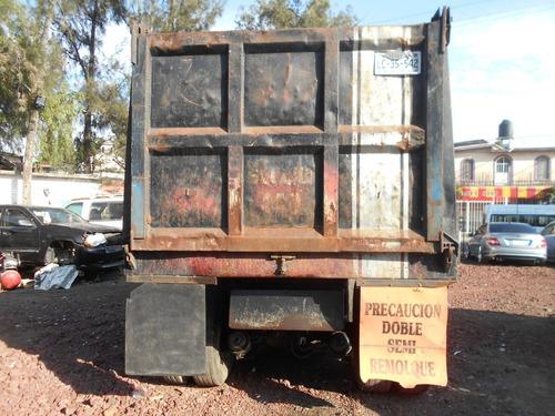 camion de volteo kenworth t600 torton 16m³, mod. 2003