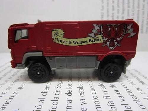 camion desert escala 7cm largo coleccion matchbox