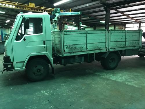 camion deutz agrale dynamic con grua y plataforma hidraulica