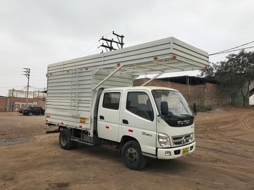 camion doble cabina foton