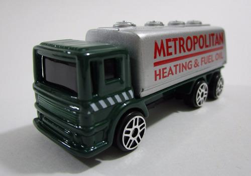camion dobletroque tanque escala 7cm largo