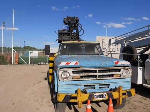 camion dodge d500 hidrogrua 4x4