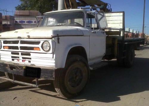 camion dodge dp800 con hidrogrua 5,5tn/caja playa envio pais