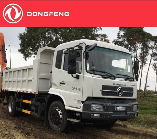 camión dongfeng 4x2 con volcadora ensamblada en origen 9m3
