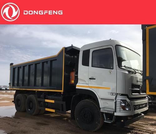 camión dongfeng 6x4 con volcadora ensamblada en origen 17 m³